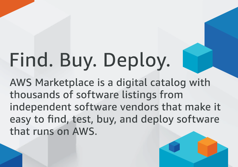 Find Buy Deploy on AWS Marketplace