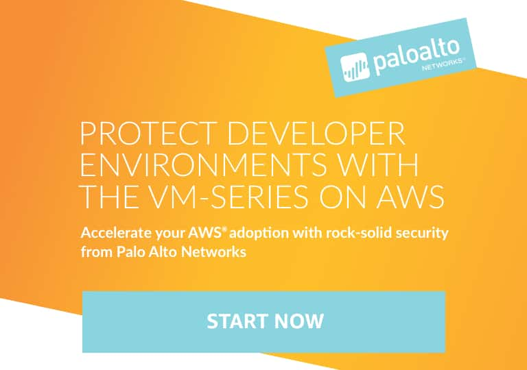 Palo Alto Networks security on AWS