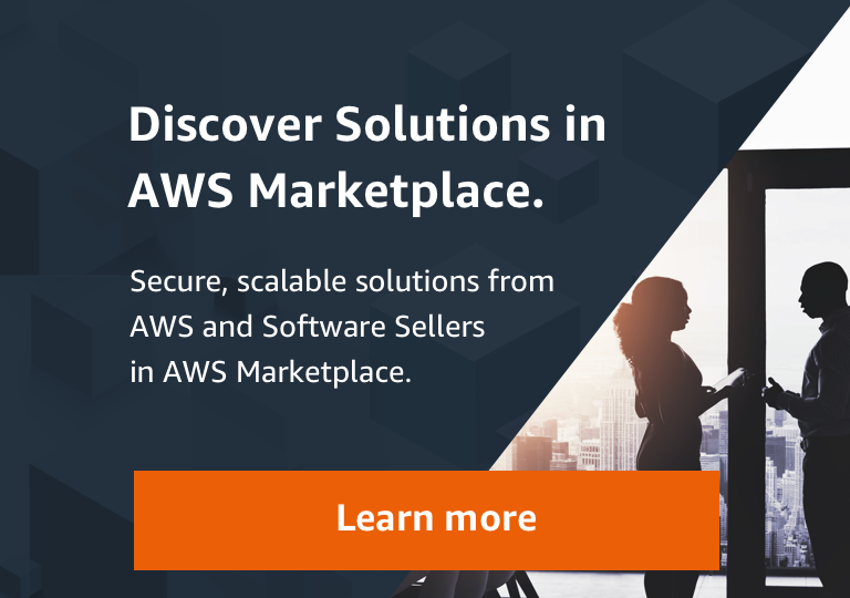 Discover Solutions on AWS Marketplace