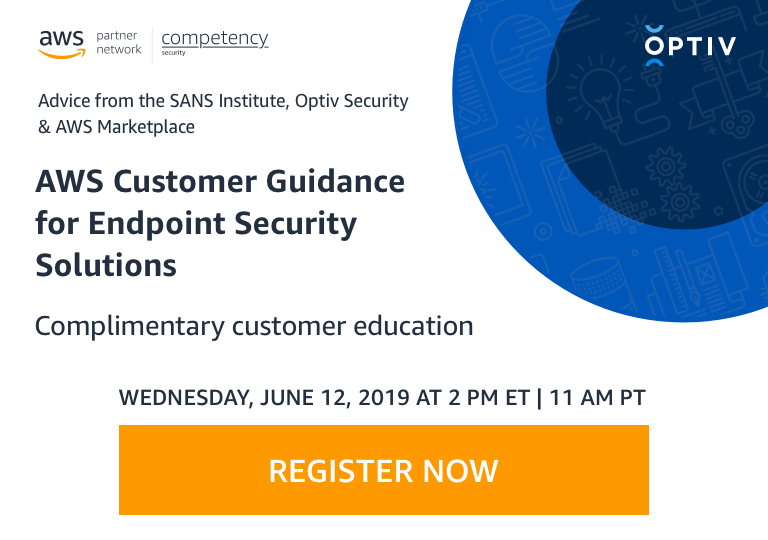 Security Webinar Series with Optiv