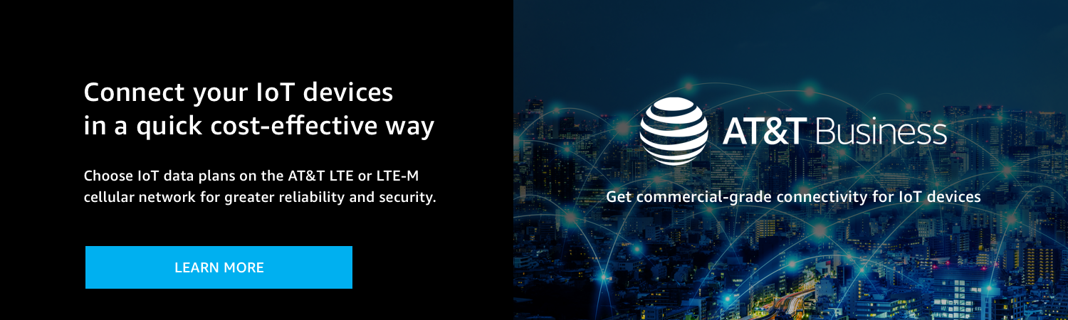 Connect your IoT devices with AT&T
