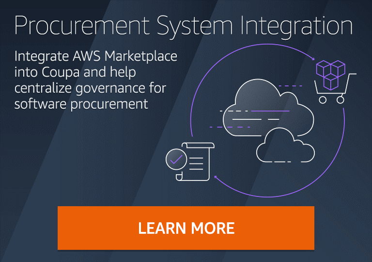 AWS Marketplace Procurement System Integration