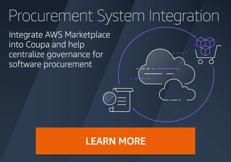 AWS Marketplace Procurement System Integration