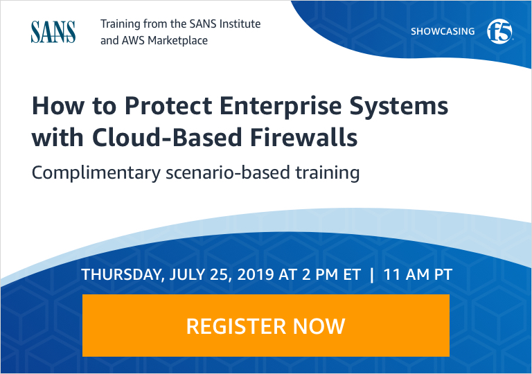 Protect Enterprise Systems with Cloud-Based Firewalls