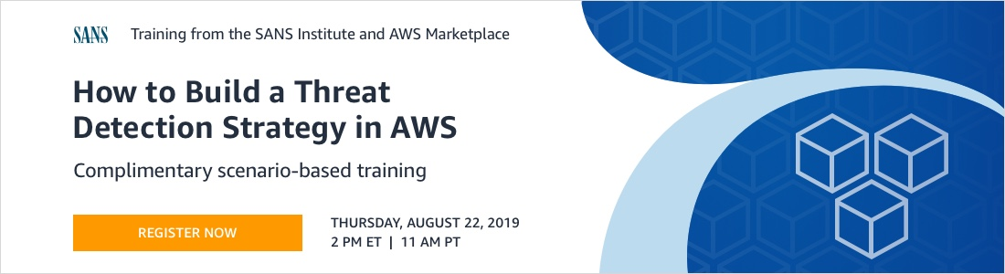 AWS SIEM & SOAR Cloud Security Webinar