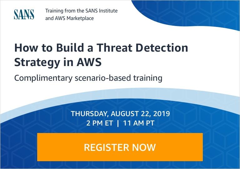 AWS SIEM & SOAR Cloud Security Webinar
