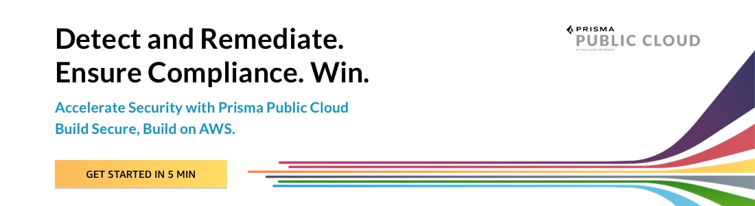 Prisma Public Cloud on AWS