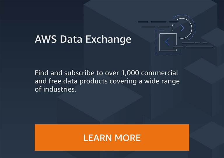 AWS Data Exchange