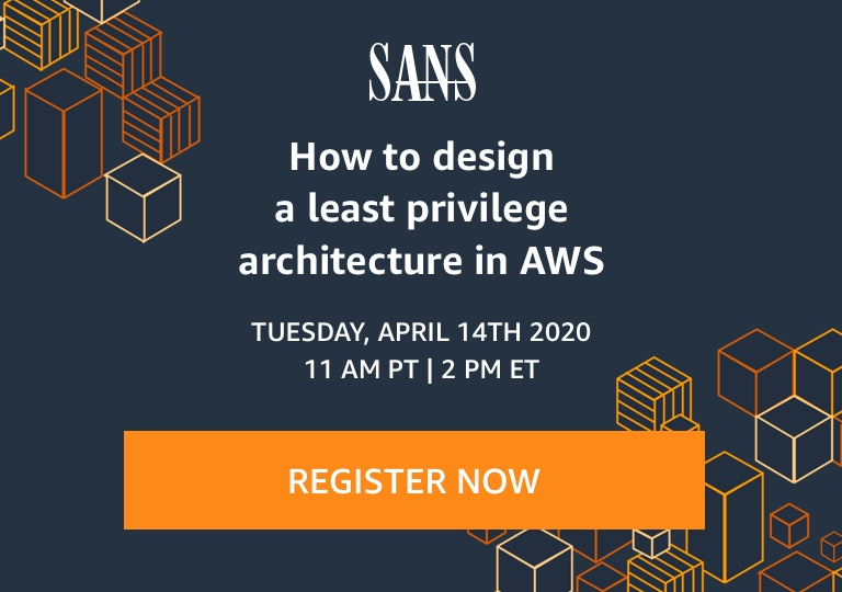 SANS security webinar