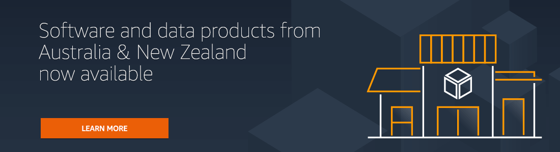 Sellers and Consulting Partners from Australia and New Zealand Now Available in AWS Marketplace