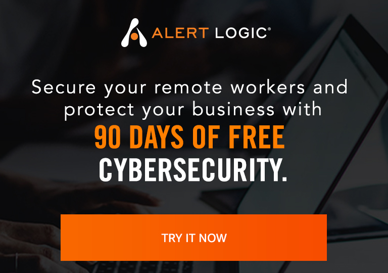 Alert Logic 90 days of free Cybersecurity
