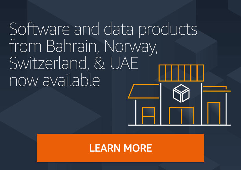Independent software vendors and consulting partners from Bahrain, Norway, Switzerland, and UAE now available in AWS Marketplace