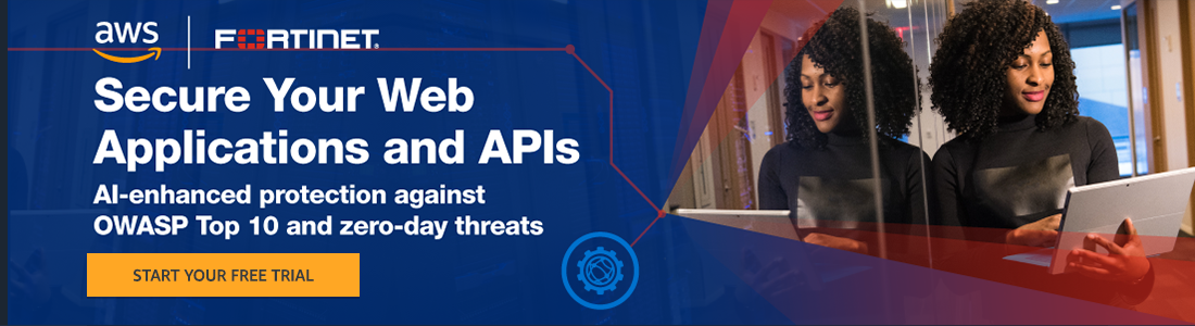 Using its unique machine learning powered security engine, FortiWeb Cloud deploys in minutes to provide effective and efficient protection for your critical web apps against the broadest range of attacks – everything from the OWASP Top 10 to zero-day attacks.