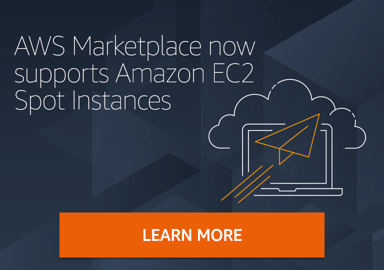 AWS Marketplace now supports Amazon EC2 Spot Instances