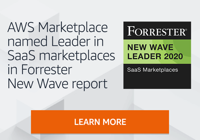 AWS Marketplace named Leader in SaaS Marketplaces in Forrester New Wave report