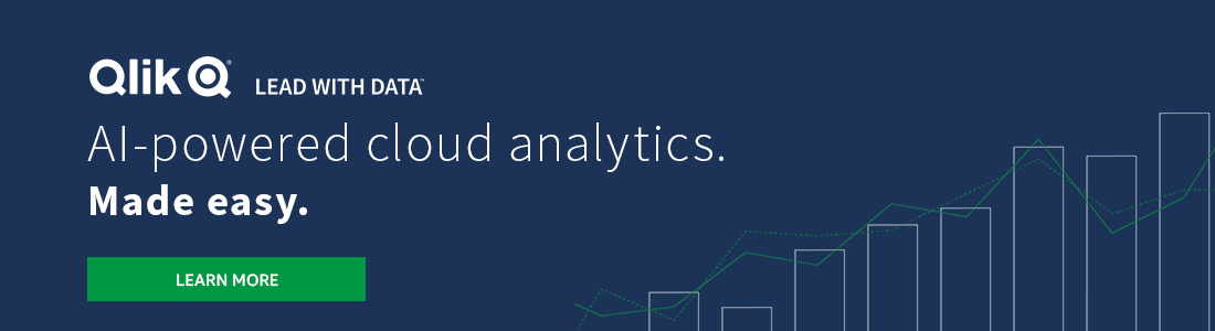 Subscribe to Qlik Sense SaaS now. Quickly combine your data to create rich, interactive visual analytics in a secure cloud environment leveraging Qlik's powerful Associative Engine.